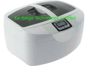 China Digital Household Ultrasonic Cleaner For Fruits / Tableware Supersonic Cleaning , 2.5L on sale