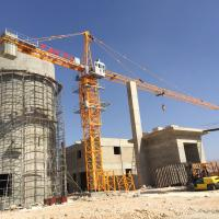QTZ63 5010 50m Boom Topkit Construction Building Tower Crane, Self Erecting Tower Crane