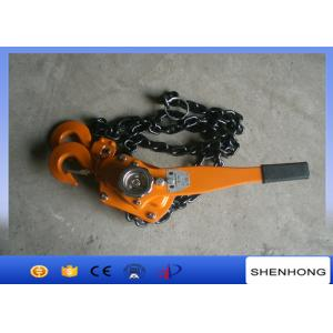 Câblez tirer le bloc de niveau de grue à chaînes de grue à chaînes de main d'outils/3 tonnes