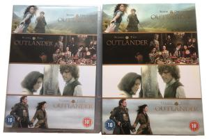 China Outlander Season 1-4 DVD TV Series Action Adventure Fantasy Series DVD (UK Edition) on sale