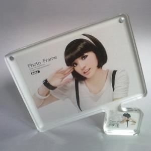 China Table stand acrylic photo frame on sale