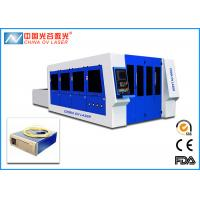 Fiber 7mm Sheet Metal Cutting Machine with 2000 x 4000 mm Working Table