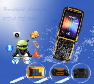 China Tousei TS-901 android pda with barcode scanner / WIFI / RFID / 3G / GPRS on sale