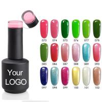 China Fashion 1000 Color Gel Set Uv Gel Nail Polish on sale