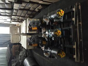 China Traction System Elevator Geared Traction Machine Speed 0.5 - 1.0 M/S on sale