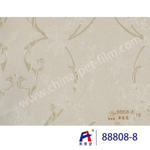 China 88808-8 Lucky Flower PVC Decorative Film , Window Decorative Film Good Effect on sale