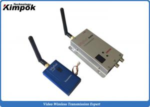 China 12 Channels FM Analog Video Transmitter 1000mW Wireless AV Transmitter And Receiver on sale