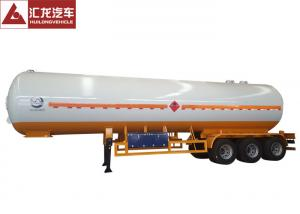 China Pressure Vessel LPG Tank Trailer Mechanical Suspension Automatically Safety Valve on sale