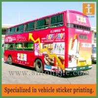 China Car Sticker, Bus Wrap on sale