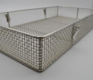 China Heat Resistance Metal Mesh Cloth , Wire Mesh Baskets Non - Poisonous 200 Mesh on sale