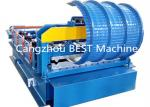 ISO/CE Accessory Equipment Corrugated Roofing IBR Wall Sheet Bending Crinping Curve Machine
