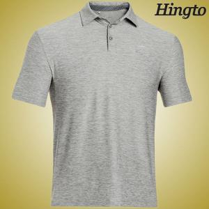 China Quick Dry  200 Gsm Cotton Short Sleeve Polo Shirts for Mens , Grey on sale