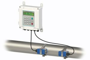 China IP68 Insertion Ultrasonic Flow Meter Explosionproof Function RS485 MODBUS on sale