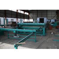 Durable Rebar Mesh Welding Machine , Fully Automatic Fence Panel Making Machine