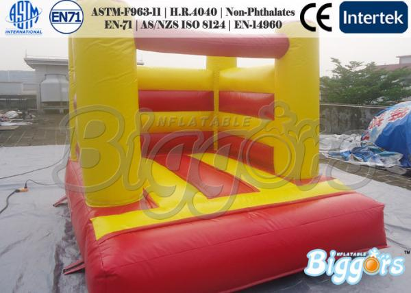 Costom Small Bouncy House Castle Inflatable Moonwalks With Air