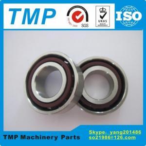 China 7201 HQ1 AC/C P4 Ceramic Ball Bearings (12x32x10mm) Angular contact bearing Open Type High Speed Electric Motor Bearing on sale
