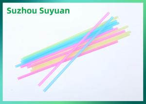 China Colored PLA Drinking Straws , Compostable Biodegradable Drinking Straws on sale