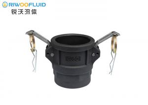 China Hose PP Camlock Coupling High Sealing Performacne Eco Friendly Non Toxic Material on sale
