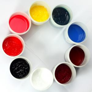 China silicone inks silicone silkscreen inks platinum additive inks on sale