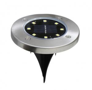 China Solpex Solar Powered Disk Lights, 8LED Solar Pathway Lights  Waterproof Garden Landscape Lightin,solar undergroun light on sale
