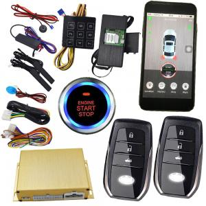 China Reatime Online Smartphone Car Alarm System Cell Phone Remote Start Gps Vehicle Tracking on sale