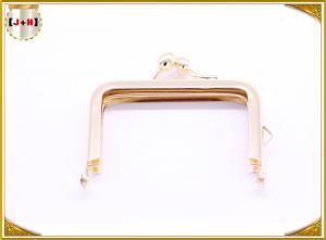 China Shiny Gold Corner Arc Clutch Purse Bag Frame In Different Side And Color on sale