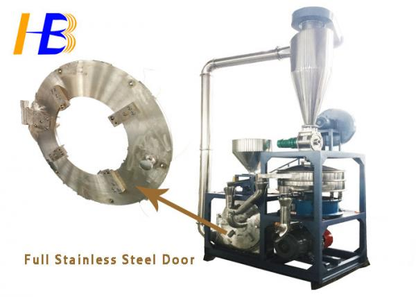HDPE Plastic Granules Stainless Steel Pulverizer With