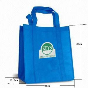China Generic Supermarket Non Woven Shopping Bags Non Woven Fabric Bags on sale