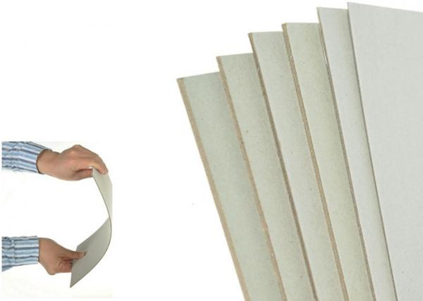 2mm 1200 Gsm Thickness Gray Paperboard Stocklot Stiff