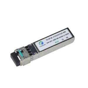 China Bidirectional Optical Transceiver , 10gb Fiber Transceiver Low Power Dissipation on sale
