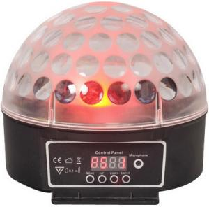 China China 30W RGB LED Sound Control Pattern Magic Ball Light  for DJ , parties(VS-69) on sale