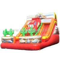 Popular Commercial cheap giant Inflatable Slide for sale