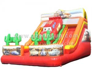 China Popular Commercial cheap giant Inflatable Slide for sale on sale