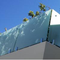 316 stainless steel handrail hardware Spigot glass baluster Customized free design railing