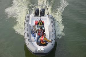830cm Inflatable Large Boat Navigator Bouyancy Tube Hypalon