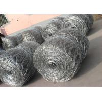 Hot - Dipped Galvanized High Tensile Barbed Wire 10BWG x 12BWG Per Roll