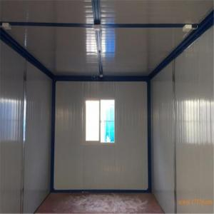 China 25-35 years waterproof and fireproof sandwich panel living container house on sale