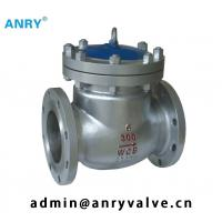 China Butt Welded  API Valves  Stellite Overlay Disc  Stainless Steel Check Valve Flanged on sale