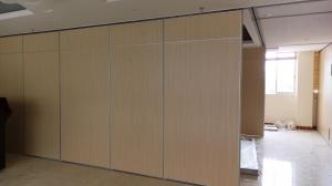 China Commercial Sliding Modular Assemble Sound proof Partition Wall For Office Room on sale