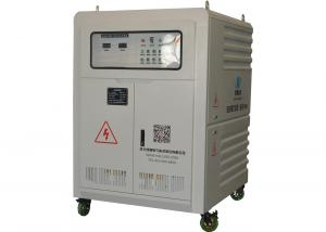 China 271kva Variable Resistive Load Bank With Copper Conductor Grey And Black Color on sale