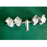 China Multi-cavities zamak die casting Print machine blocking nuts without burrs and precision dimension on sale