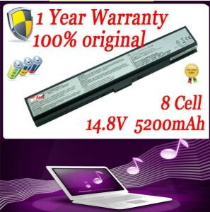 China Original Laptop Battery For Asus A42-W2 W2000 W2J Battery on sale