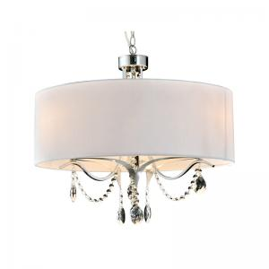 China Modern Classic Simple Cloth Cover Crystal Decoration Chandelier Nc1244p-3b on sale