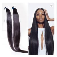 China 40 Inch 100% Peruvian Human Hair Weave For Black Women No Synthetic on sale