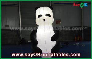 China Durable Custom Inflatable Products , Animal Inflatable Panda Cartoon For Advertising on sale