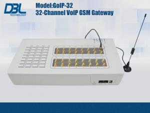 China 32 SIM Cards Remote GoIP GSM Gateway VoIP Support VPN & Relay on sale