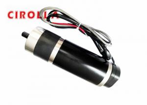 China Noise Free Planetary Worm Gear DC Motor  for Automatic Solar Panels Dia 63mm on sale