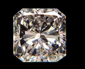 China Wuzhou Synthetic Precious Semi-Precious Cheap Gemstone Jewelry Semi-finished Square Shaped Cubic Zircon on sale