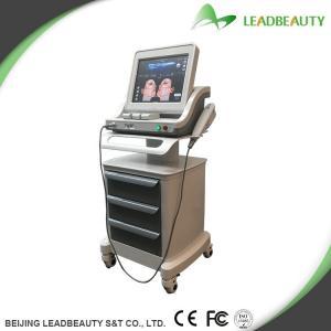 China Facial beauty high frequency hifu machine with hifu transducer supplier