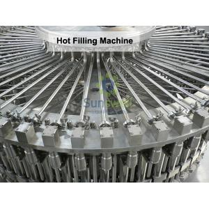 China Bottled Heat-resistant Hot Filling Machine , Juice Drink Production Line on sale